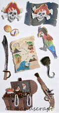 Artoz Artwork 3D-Sticker, Piraten, Schatz