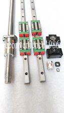 HGR20-400mm Hiwin Liner rail & HGH20CA &DFU1605-400mm Ballscrew&BF12/BK12 Kit