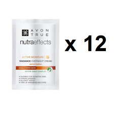 12 x Avon Nutraeffects / Nutra Effects RADIANCE Overnight Cream Samples