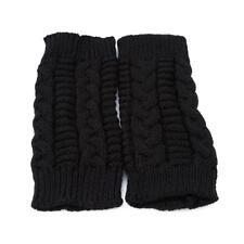 Women Half Finger/Fingerless Gloves Winter Wrist Hand Warmer Knitted Gloves LC
