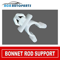 HOOD BONNET PROP ROD FOR NISSAN NAVARA D21 D22 SUPPORT PLASTIC CLIP CLAMP HOLDER