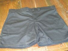 Vtg 1995 New Nwt Rawlings Ladies Xxl Xl Baseball Shorts Softball Black Womens
