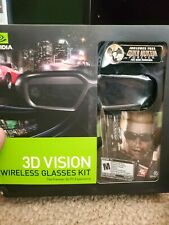 Nvidia 3d Vision Kit with extra pair of glasses