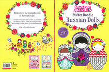 RUSSIAN DOLLS FANTASTIC STICKER AND COLOURING BOOK