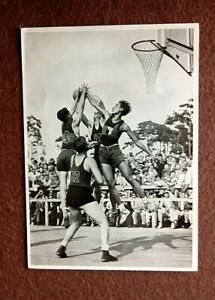 Basketball Olympics 1936 in Berlin by REEMTSMA CIGARETTE - Germany