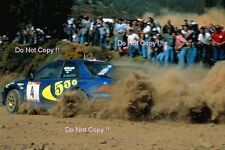 Kenneth Eriksson Subaru Impreza WRC 97 Portugal Rally 1997 Photograph 2