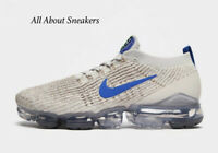 """Nike Air VaporMax Flyknit 3 """"Multi-Blue"""" Men's Trainers Limited Stock All Sizes"""