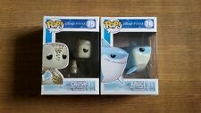 Funko Pop Disney Finding Nemo Crush #75 Bruce #76 RARE RETIRED FREE 2 protectors