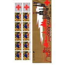 Carnet Croix-Rouge CR2036 - Retable de la chartreuse de Champmol (2498a)  - 1987