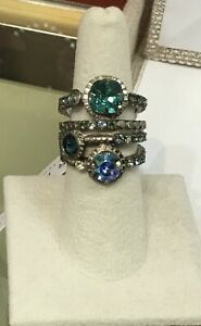 """Sorrelli Sea Glass Collection ~ Ring """"STACKER"""""""