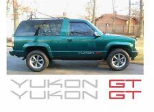 1992-1999 GMT400 CHEVROLET CHEVY GMC YUKON GT DECAL STICKER DECALS 4X4