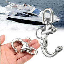 Stainless Quick Release Boat Anchor Chain Eye Shackle Swivel Hook Snap Marine