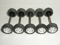 Scalextric - Front Axle Sets x15 - Silver GT Type - NEW