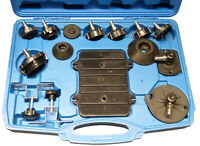 Brake Cylinder Adaptor Kit Universal Set Master Cylinder Brake Bleeder Kit