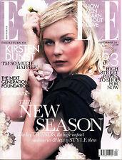 ELLE UK 09/2011 KIRSTEN DUNST Dolly Parton KIM NOORDA Martha Streck DIONI TABBER