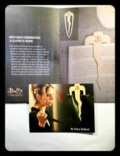 OFFICIAL BUFFY THE VAMPIRE SLAYER MR. POINTY WOODEN BOOKMARK BTVS LOOT CRATE