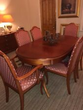 White & Newton Dining table and Chairs
