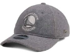 2d478e8421f Golden State Warrior Logo Gray Fleece Adjustable 6 Panel Baseball Cap Hat