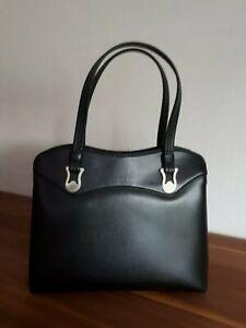 alte Leder Handtasche 22x16cm ca