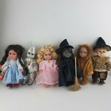 The Wizard of Oz ZY TOYS ZYTOYS dolls COMPLETE SET OF 6 ULTRA RARE England VHTF