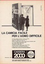Pubblicità Advertising Werbung 1962 camicia CASSERA 2000