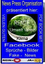 Facebook Fake News # PDF Book # A4 Vorlagen # Bilder # Texttafeln # User # wow
