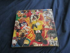 Furry Football Fans - Dog Jigsaw Puzzle - Springbok Animals #PLZ2488 NEW SEALED