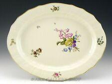 """Royal Copenhagen Denmark #1556 Frijsenborg Floral 14-1/4"""" Oval Serving Platter"""