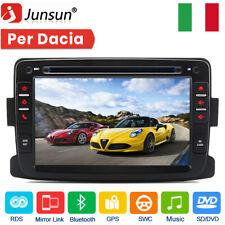 "1 DIN 7"" Autoradio DVD GPS Navigatore USB per Renault Dacia Duster Logan Sandero"
