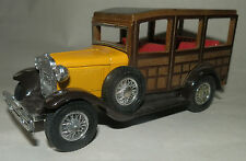 MATCHBOX MODELS OF YESTERYEAR Y21 1930 FORD MODEL A WOODY WAGON 7 SEATER