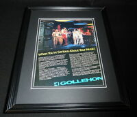 1981 Gollehon Speakers Framed 11x14 ORIGINAL Vintage Advertisement