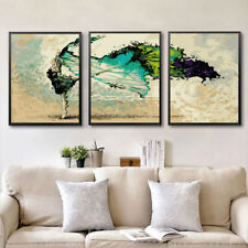 3x 16x20'' DIY Dancing Like Butterfly Paint by number Kit Painting on Canvas