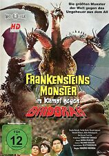 FRANKENSTEINS MONSTER IM KAMPF GEGEN GHIDORAH Ishoro Honda DVD Godzilla Neu