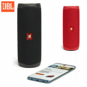 JBL Flip 5 Portable Speaker with Rechargeable Battery Bluetooth Black New AU