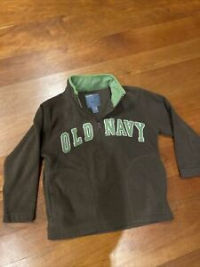 Boys Old Navy Pullover Fleece Sweater Size 5