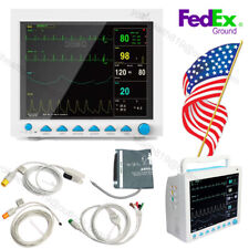 Patient Monitor Multi Parameter 121 Color Lcd Icu Ccu Vital Signs Fda Contec