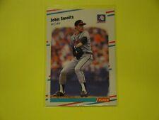 1988 Fleer #U-74 John Smoltz Rookie Card