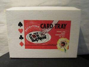Revolving Playing Card Tray