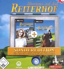Abenteuer auf dem Reiterhof PC Teil 1 und Teil 2 doppelter Spielspass