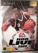 NBA LIVE 2002 video gioco XBOX Microsoft Raro PAL usato offerta idea regalo 2013