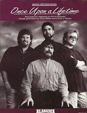 Alabama Once Upon A Lifetime 1992 Photo Sheet Music