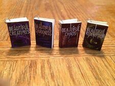 Beautiful Creatures 4-book series, Mini Books Charms