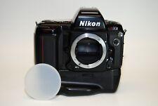 Nikon N90S 35mm SLR Film Camera Body w/ Nikon MB-10