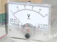 1 Brand New 50v 48 V Volt Dc Analog Panel Meter Voltmeter Class 25 Nib Usa Ship