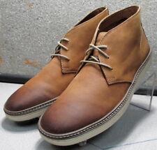 251394 Wtbt40 Men's Shoes Size 12 M Tan Leather Boots Johnston Murphy Walk Test