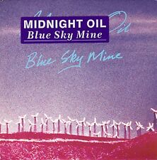 "45 T SP  MIDNIGHT OIL ""BLUE SKY MINE"""