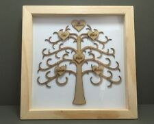 Wooden Family & Friends 3D Box/Deep Picture Frames
