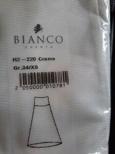 Bianco Evento Hooped Petticoat Wedding  size 34 / XS   ivory.