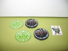 =Mechwarrior DRAGON'S FURY Mortar Squad 005 with pog 2 Pieces 13 =