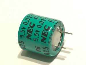 0.022F 5.5V  NEC BACK-UP SUPER CAPACITOR FZ0H223Z  (x1)                    ad1h2